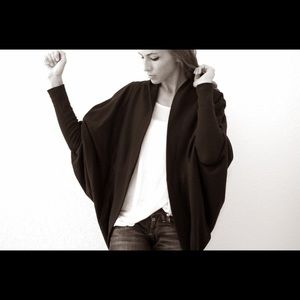 Black Urban Outfitters Shawl Cardigan - Size Small